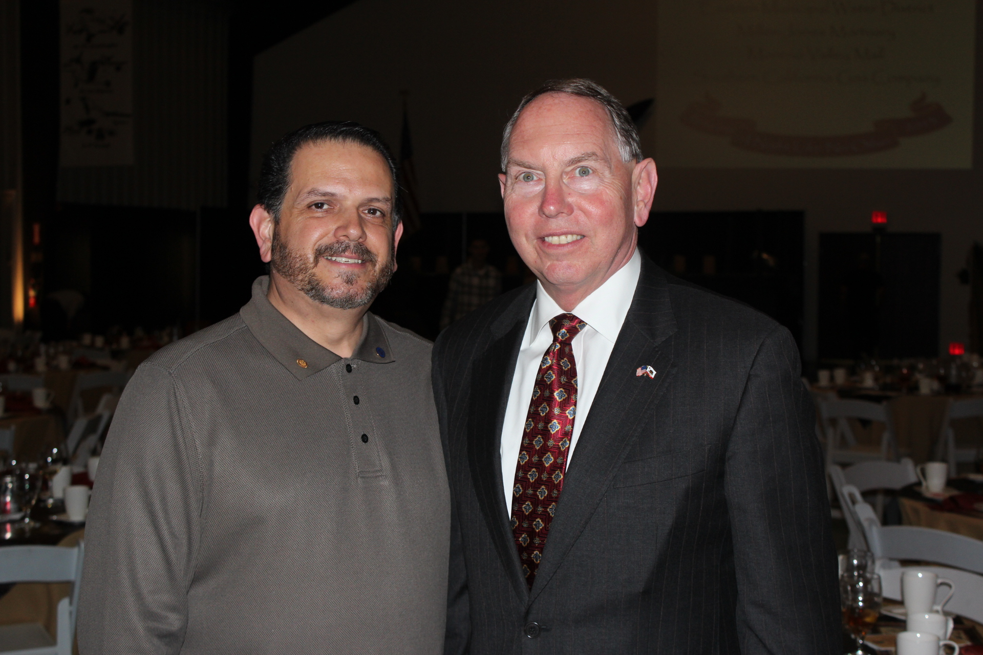 Senator Richard D. Roth and Oscar Valdepeña, President/CEO of Moreno Valley Chamber of Commerce