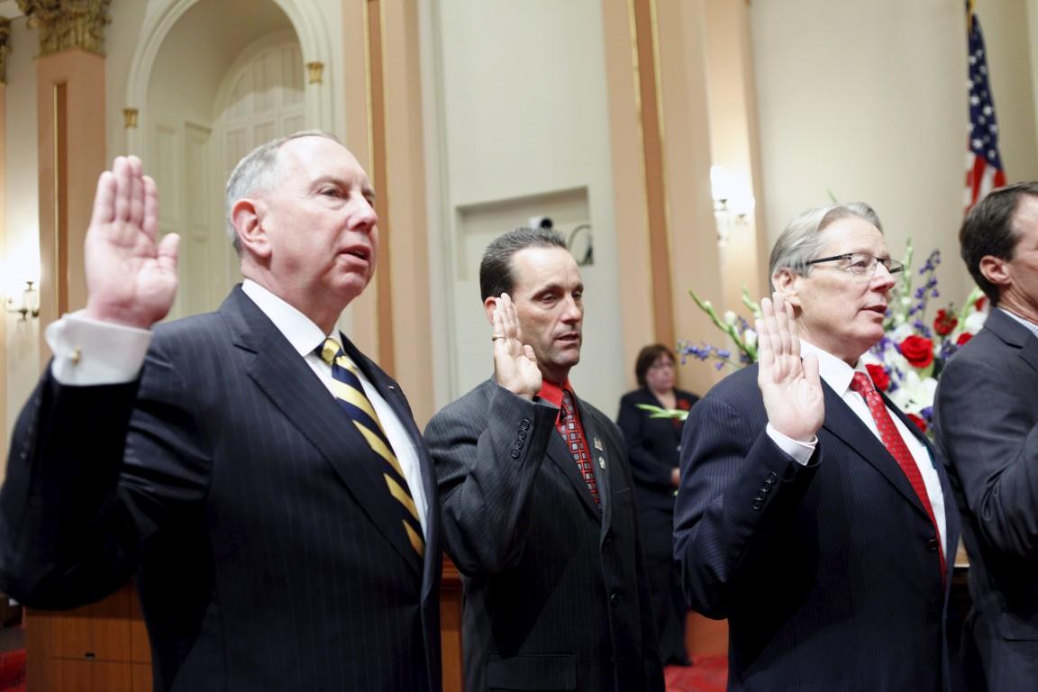 Senator Roth Sworn In