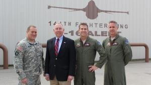 Sen. Roth Tours March Air Reserve Base